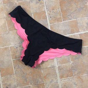 Victoria's Secret Pink bikini bottoms size large